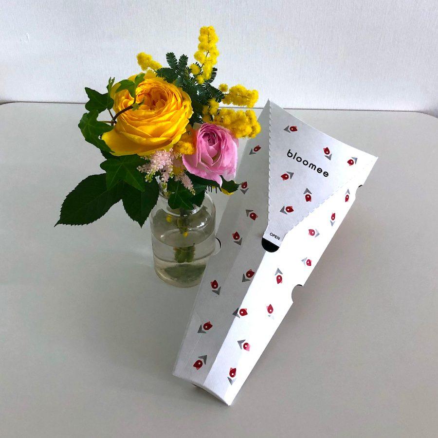 bloomeeで実際に届くお花